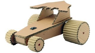 How to Make Car for Kids Using Cardboard - Amazing DIY Batman Car