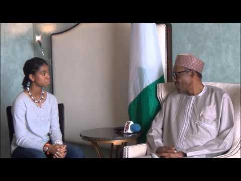 ZAAI News Ep 1 - Zuriel Oduwole Interviews President Muhammadu Buhari ZAAI News