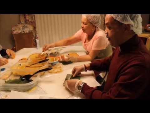 How to make Pasteles, Authentic Puerto Rican Family Recipe. It's all about the masa.