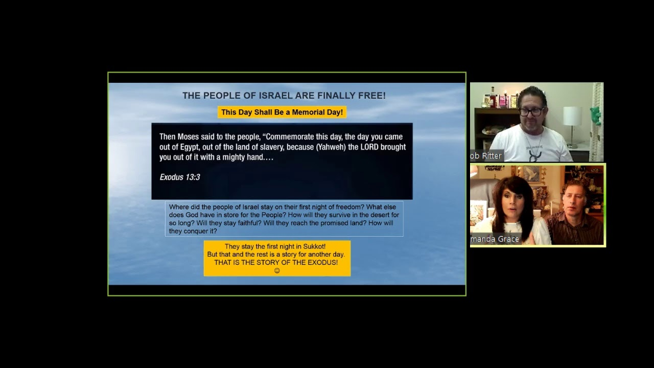 Amanda Grace LIVE PASSOVER EVENT WITH SPECIAL GUEST JONAH