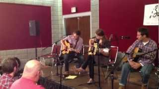 """Bryan Sutton and Courtney Hartman """"Your Life is Like a Flower"""" IBMA 2012"""