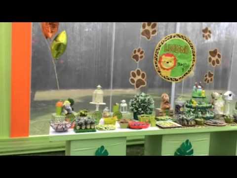Fiesta Infantil De Safari En La Casona De Pachacamac Decoraciones Infantiles