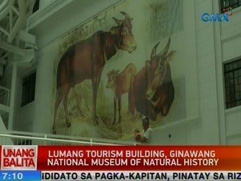 UB: Lumang tourism building, ginawang National Museum of Natural History