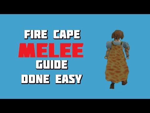 OSRS - Fire Cape Melee Guide Done Easy - Framed