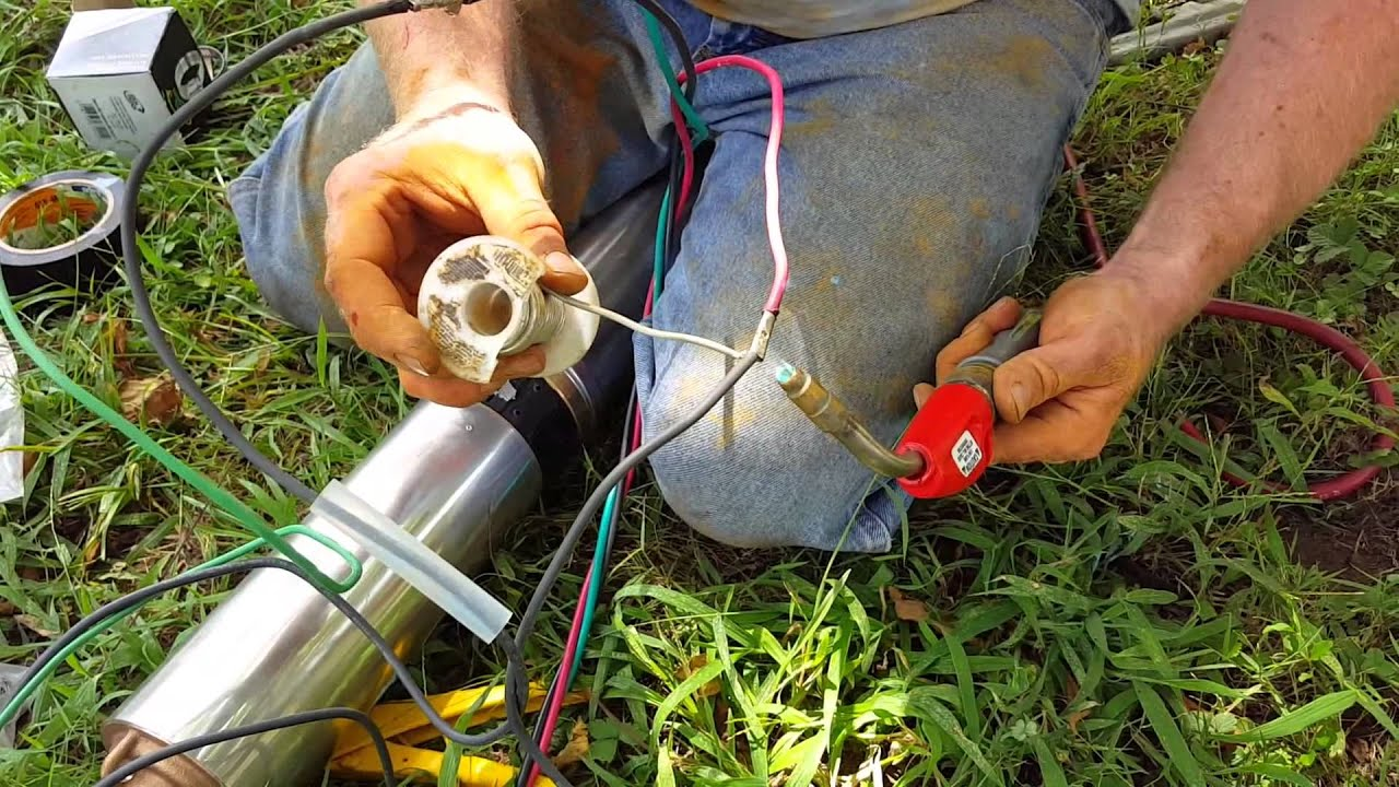 how to replace a submersible pump Water Well Pump Wiring Diagram on