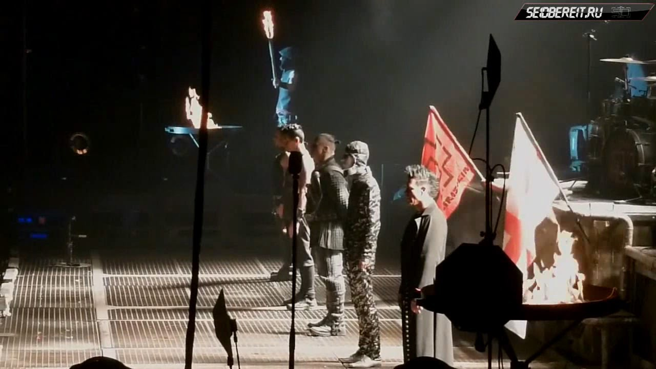 Download Rammstein - Live in Manchester, 1.03.2012 [Full show] (multicam by Nightwolf)