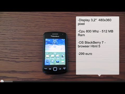 BlackBerry Curve 9380 - anteprima video - Cellularemagazine.it