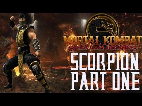 Mortal Kombat Shaolin Monks - Scorpion Playthrough - Part One (Commentary)