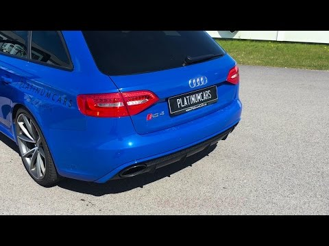Audi RS4 Avant Nogaro Edition w/ Armytrix Cat-Back Exhaust - Revs & Acceleration!