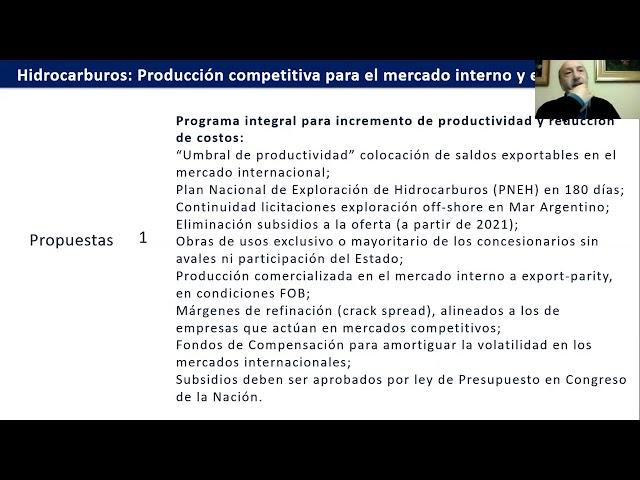 Presentación de propuestas del IAE | Gerardo Rabinovich en AGUEERA-ACIGRA