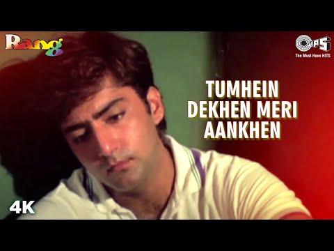 Download Tumhein Dekhen Meri Aankhen | Divya Bharti | Ayesha Jhulka | Kumar S | Alka Y | Rang | 90s Sad Song