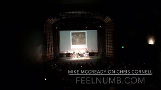 Mike McCready on Chris Cornell Death - Pearl Jam - Soundgarden - Temple of the Dog