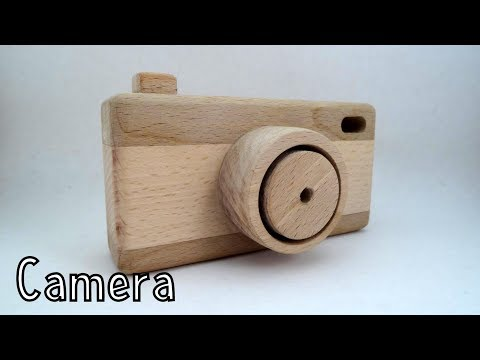 Wooden toys for charity - Camera | How To Woodworking