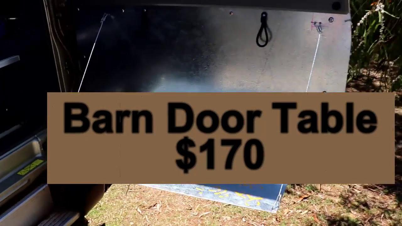 Diy Gu Patrol Barn Door Table  Beaumont Keyser 01:51 HD