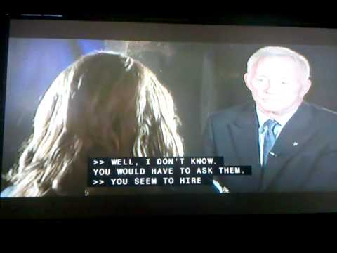 Pam Oliver interview with Jerry Jones