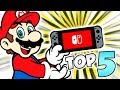 TOP 5 Nintendo Switch Games 🏆