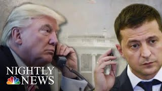 Top U.S. Diplomat Delivers Testimony On July Trump-Ukraine Phone Call | NBC Nightly News
