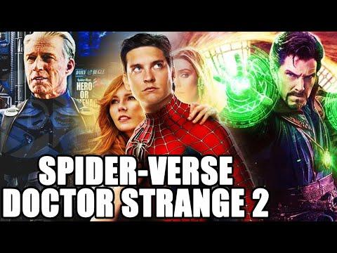 El capitán América creó un universo alterno con Spider-Man de Sony (Tobey Maguire) Spider-Verse UCM