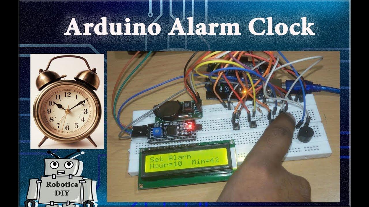 How to make Arduino alarm clock  - Robotica DIY