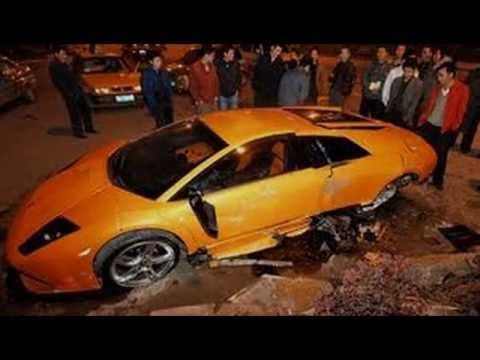 Exotic Car Accidents Video Youtube