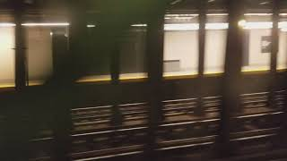 bmt 4th ave line close look at renovated 53 st station from manhattan bound r train 9 11 17