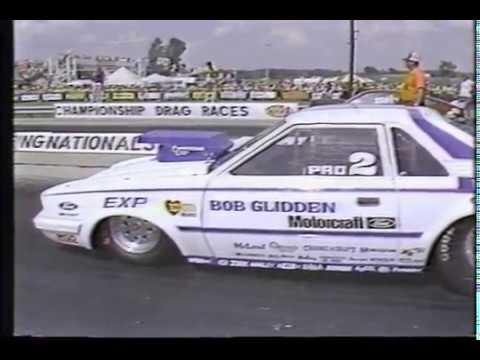 Drag Racing 1982 NHRA Springnationals Columbus PRO STOCK Semi Finals