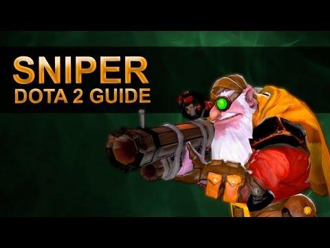видео: dota 2 гайд по снайперу
