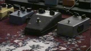 DAM 1966 tone bender replica fuzz pedal