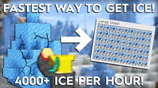 Minecraft Easy Ice Farming Method - 4000+ Per Hour