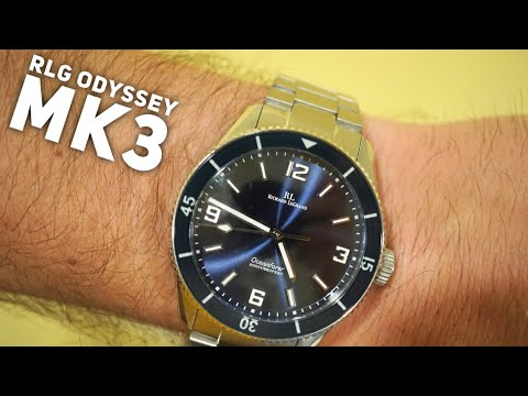 Richard LeGrand Oceanfarer Odyssey MK 3 Dive Watch Review