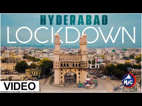 Drone video of Hyderabad under lockdown | ప్రస్తుత అందాల హైదరాబాద్ | Mictv