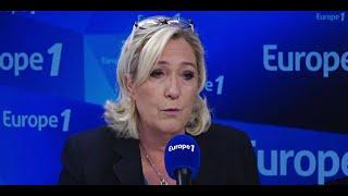 Marine Le Pen soutient la manifestation des