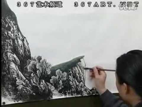 Zeng Gang 曾刚山水画 DVD Course of Chinese Landscape Painting (Disk 1-10)