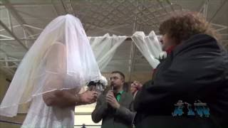 Col. Robert Parker interrupts Missy Hyatt's Wedding - Absolute Intense Wrestling
