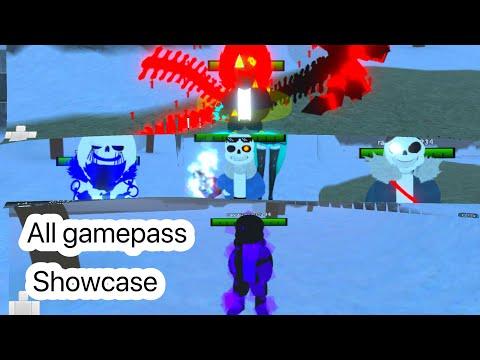 Undertale au  monster survive fight: all gamepass showcase  