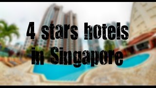 Top 10 best 4 stars hotels in Singapore sorted by Rating Guests