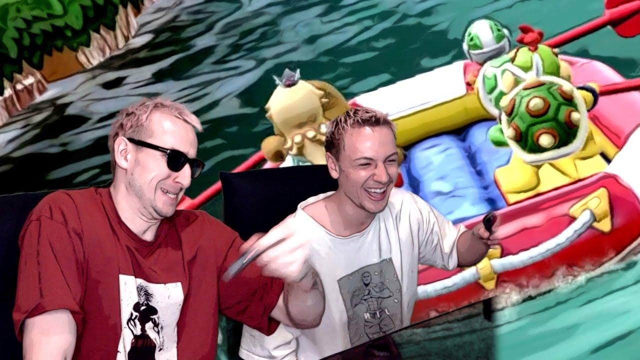 スーパーマリオパーティの川下りで世界記録を樹立しました。