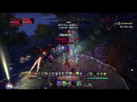 ESO Mag Warden Outnumbered PvP