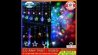 Đèn led trang trí hình ngôi sao 12 đèn