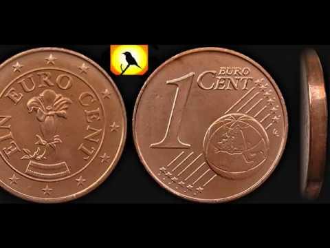 1 Ein Euro Cent Österreich 2002 2004 2005 2007 2008 2009 2010 2011 2012 2013 2014 2015 2017 2018