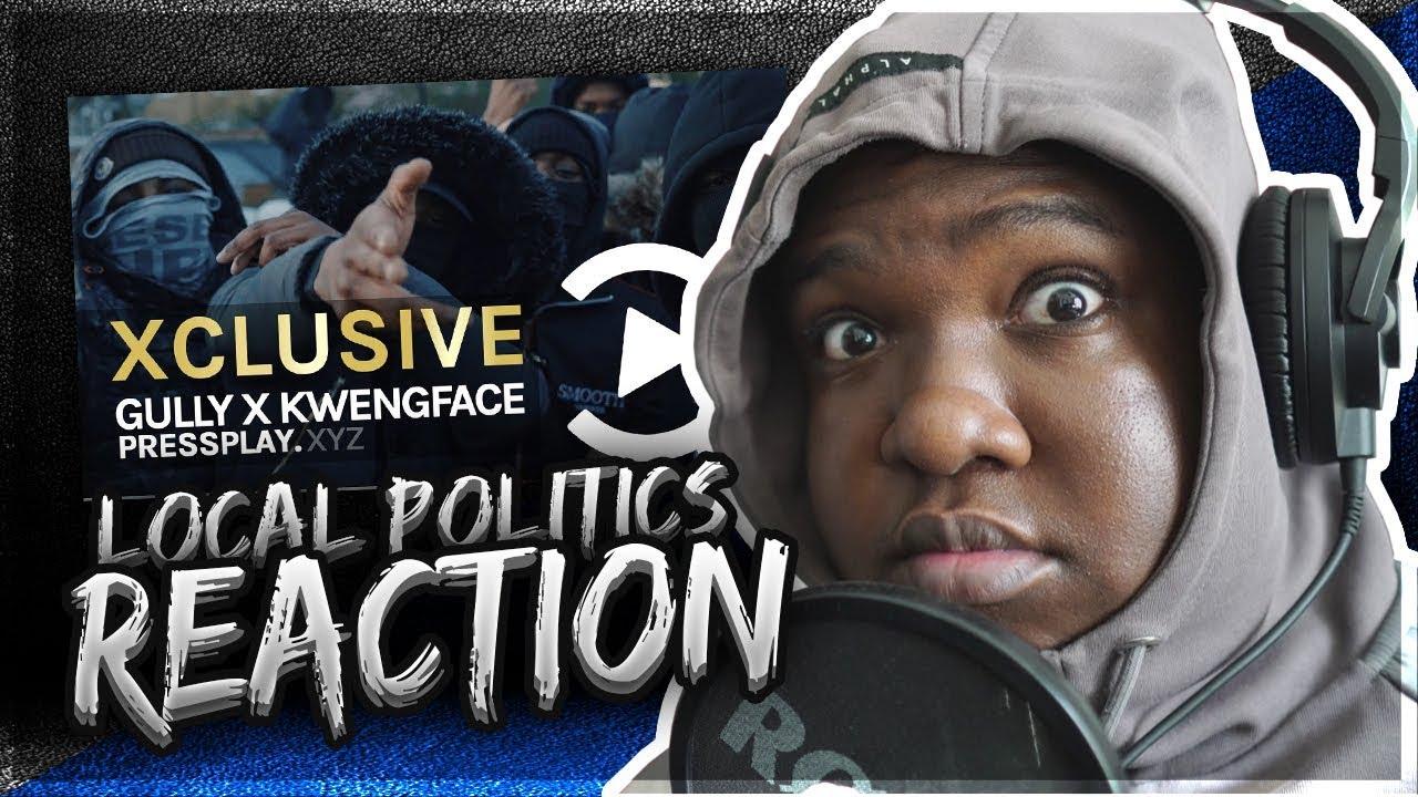 Gully X Kwengface - Local Politics (Music Video) Prod By Tefoma X KidXBeatz   Pressplay (REACTION)