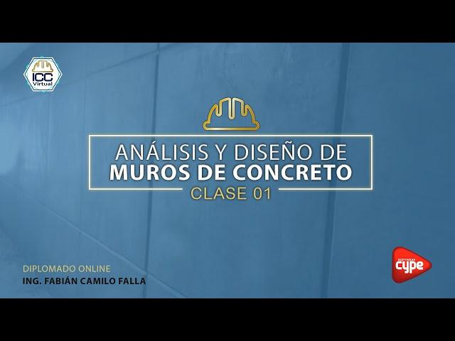 20210426 Muros de concreto CYPECAD 2A21 - C02 Ing. Fabian Falla