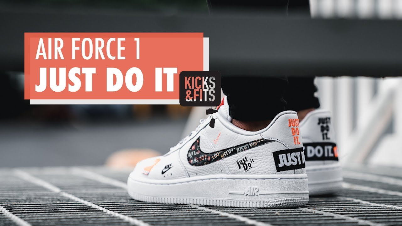 chaussure nike air force 1 just do it