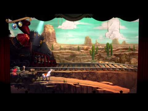 Puppeteer (PS3) - Act 4 Curtain 2 - HD Gameplay (No commentary)