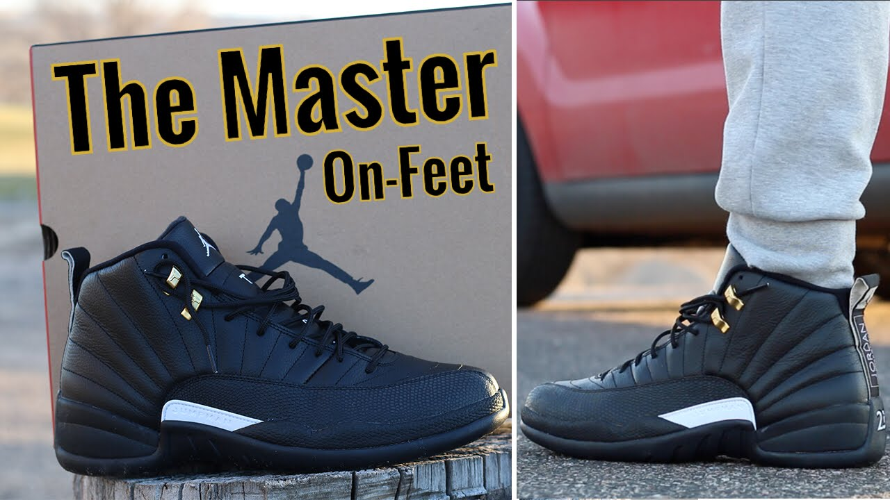 8b49a5865f86 ... aliexpress the master air jordan 12 w on foot review youtube 813f2 2efe9