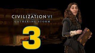 Прохождение Civilization 6: Gathering Storm #3 - Первый кризис [Швеция - Божество]