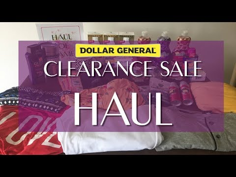 Dollar General Clearance HAUL - 10.11.19 - Couponing At Dollar General