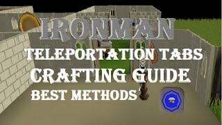 Ironman Teleportation Tabs Crafting Guide