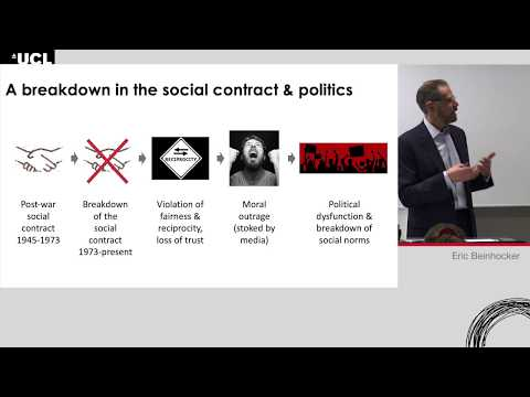 W5 academic lecture - Eric Beinhocker: The economy as a complex and evolving system