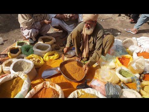 Desi Baba Making Homemade Chaat Masala | Garam Masala | Biryani Masala
